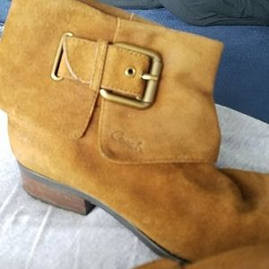 Coach suede ankle boots